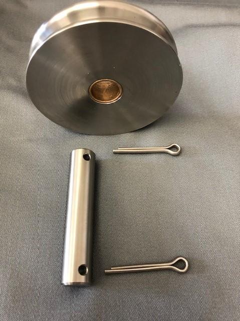 Custom Stainless Sheaves & Pins